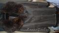 дублёнка женская немного б/у, пуховик б/у, пальто в клетку тёмное б/у всё 50 р - Изображение #2, Объявление #1339954